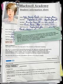 Arquivo da Kate