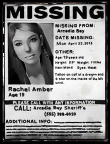 Rachel Poster