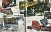 Pages 21 and 22 Art Book