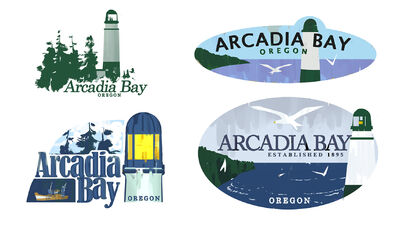 Arcadia logo concepts