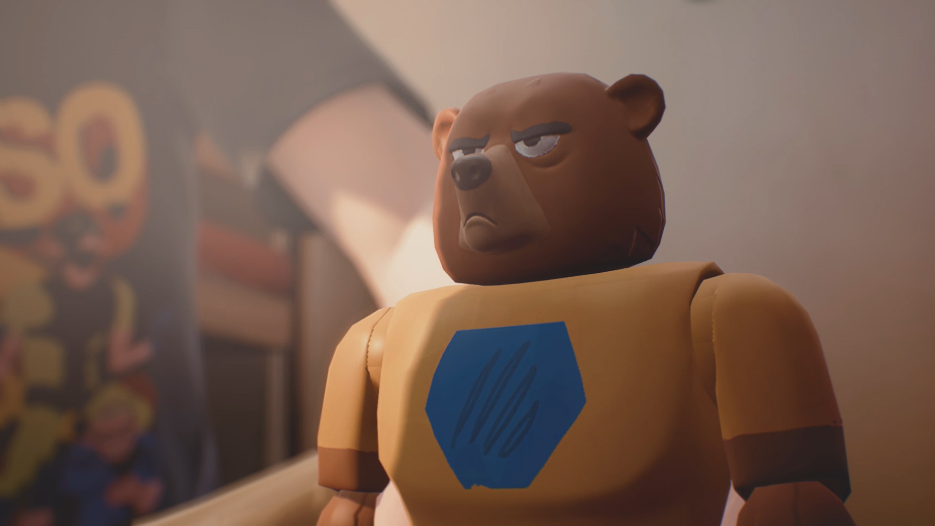 Power Bear (Captain Spirit)