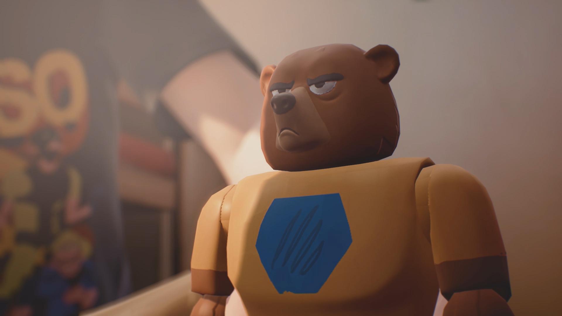 Power Bear (Captain Spirit)