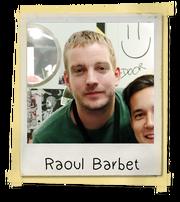 Raoul Barbet Polaroid