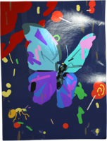 Bluebutterfly-poster
