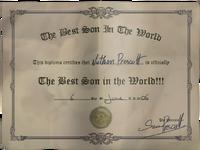 Nathan best son diploma