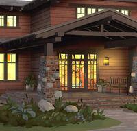 Scott Willhite - Exterior da casa dos Amber (iluminação)