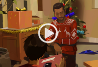 Three Seals Motel - Esteban & Daniel Diaz Christmas home video