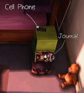 Max Journal and CellPhone