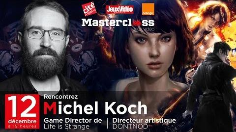 MASTERCLASS JEU VIDEO - Michel Koch (12 December, 2016)
