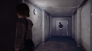 Bunker Hallway Dark Room