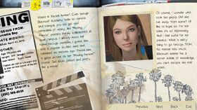 Character Note Rachel