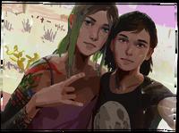LiS2E5 Away - Max & Chloe