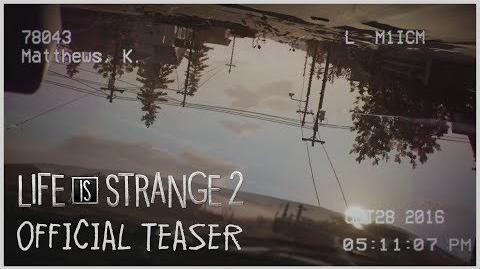 Life is Strange 2 - Prévia Oficial