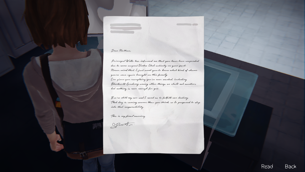 image letter to nathan dark room png life is strange wiki