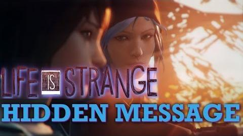 EASTER EGG - Life is Strange Backwards Message