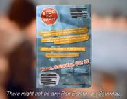 Stop Pan Estates flyer