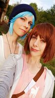 Chloe and max by jaz zephy cosplay-dbm94ph
