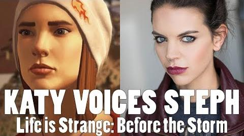 Katy voices Steph in Life is Strange Before the Storm!