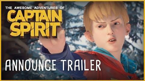Captain Spirit Announce Trailer E3 2018 ESRB