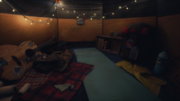 Drifters' Camp - Cassidy's Tent