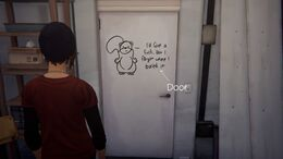 Graffiti door option2