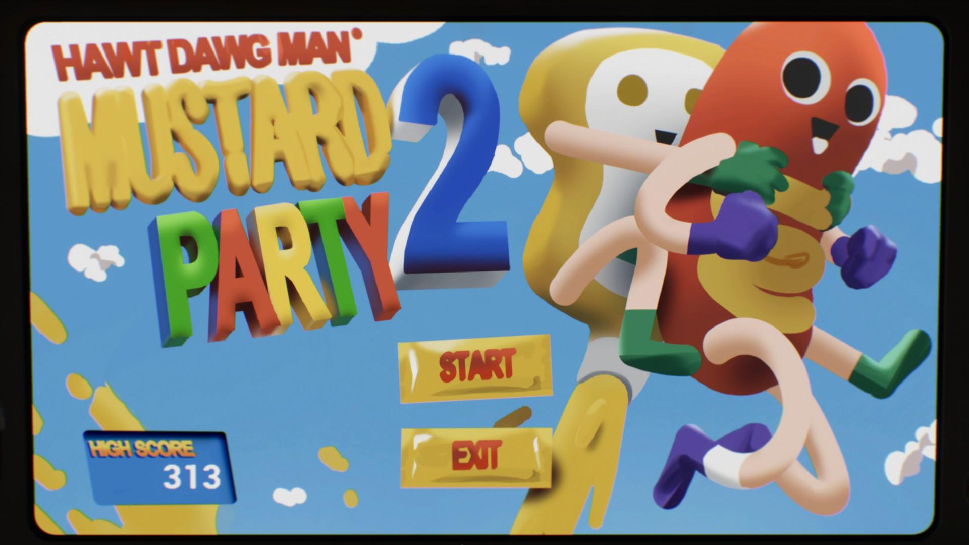 Hawt Dawg Man Game Title