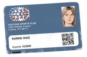 Karen - Sports Club ID