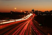 Highway 401 by 401-DVP
