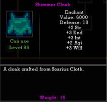 Shimmer Cloak