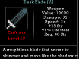Dusk Blade
