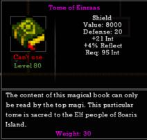 Tome of Kinraas