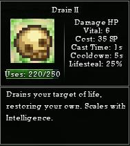 Drain necro
