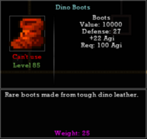 Dino Boots