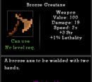 Bronze Greataxe