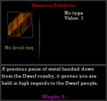 DwarvenHeirloom