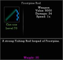 Frostpine Rod