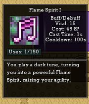 Flame spirit muse