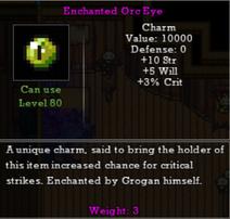Enchanted Orc Eye