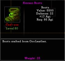 Kinraas Boots
