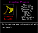 Dunestone Greataxe