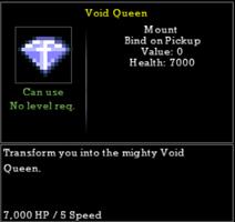 Void queen gem