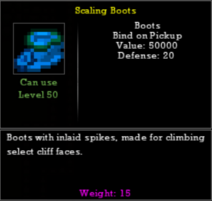 Scaling Boots-1