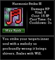 Harmonic Strike