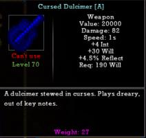 Cursed Duclimier