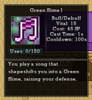 Green slime muse