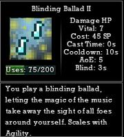 Blinding ballad