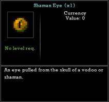 Shaman Eye