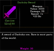 Darksky Sword