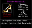 Desert's Whisper