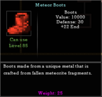 Meteor Boots